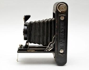 Vintage Kodak No 2 Folding Hawkeye Model B 120 Film Camera Medium Format