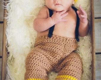Newborn Fireman outfit,  firefighter photo prop,  newborn photo prop