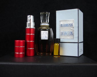 Vintage, Niche, Perfume, Passionnement by Lucien Lelong, Discontinued, 1, 2, 4ml Glass Vial 5, 10 ml Spray, Very Rare Fragrance,