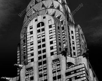 Black and White, New York City Photography, Chrysler Building, Fine Art Photography, NYC Pictures, Midtown