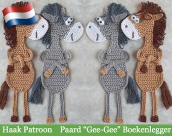 025NLY Paard Ge-Ge Boeken legger - Amigurumi Haak Patroon -  PDF file by Zabelina Etsy