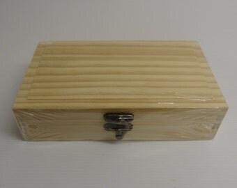 Plain, Pine Pencil / Stationery Box