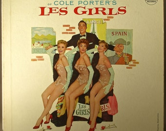 Les Girls 1957 Original vinyl