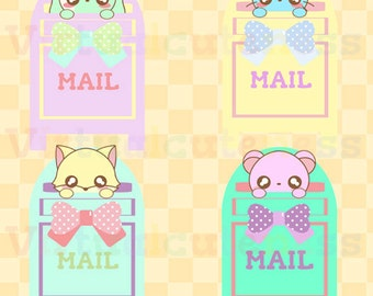 Cute Happy Mail Clipart Mailbox Clip Art Postal Penpal