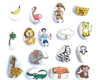 Story Stones - Zoo set