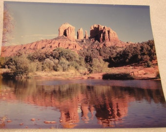 1980's Photo of Red Rocks/Sedona Arizona