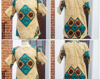 Ankara shirt/ blouse