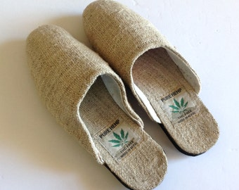 Pure Hemp Slip On Slipper