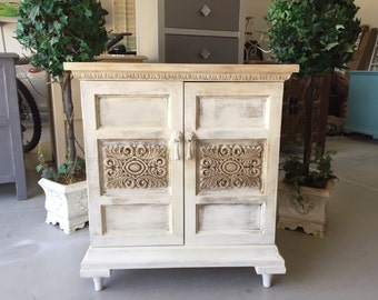 """Sold***SOLD***sold***Shabby chic cabinet """"FREE SHIPPING"""""""