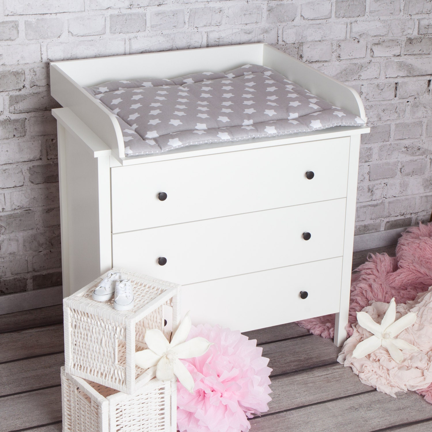 xs extraround changing table top for ikea koppang dresser. Black Bedroom Furniture Sets. Home Design Ideas