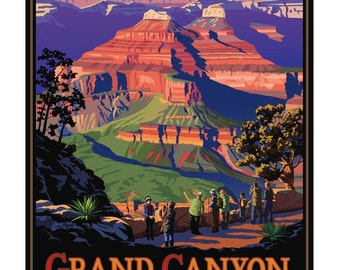 Grand Canyon National Park, South Rim. 11x14 & 16x20 Giclee prints.