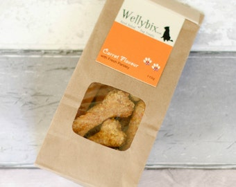 Handbaked Dog Biscuit - Carrot with Fresh Parsley