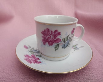Fine China Demitasse cup and saucer