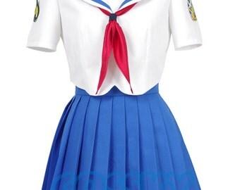 Horrible Subs Japenese Anime Sailor School Uniform Cosplay Costume