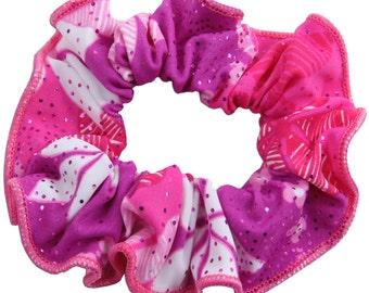 Plumeria Hair Scrunchie