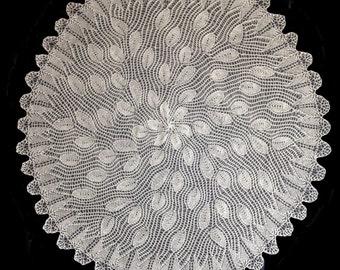 rain drops tablecloth pattern