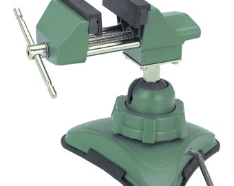 1 Vacuum Vise Locking Clamping Gripping Clamp Tool jewelers repairs hobbies drilling painting figurines electronic repairs and more new