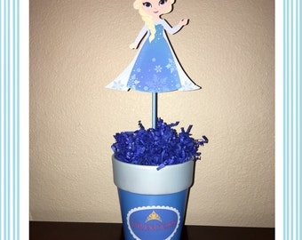 Queen Elsa Centerpiece