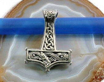 Thor's hammer, Mjolnir, pendant, 925 sterling silver-3867