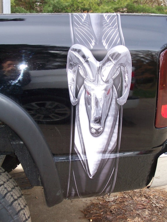 Dodge Ram Truck Bed For Sale >> Carbon Fiber WICKED Ram Bed stripe stripes fit any truck SUV