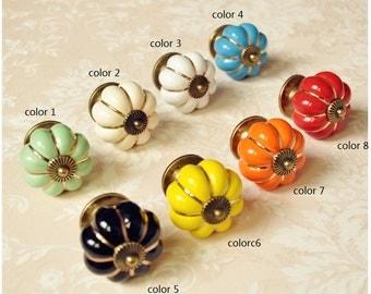 Ceramic furniture knob Handle Door/Wardrobe/Closet