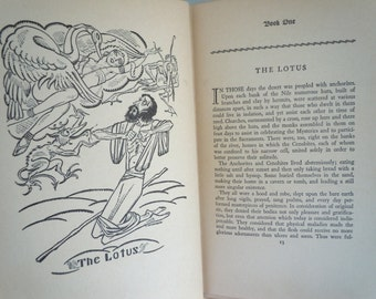 Thais by Anatole France illustrated by Arthur Zaidenberg 1930's Religious Satire