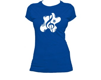 Splurge Note. Ladies fitted t-shirt.