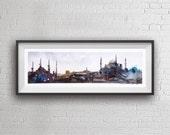 Istanbul Panorama Artprint