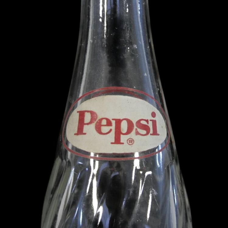 Vintage Pepsi Bottle Pepsi Cola Bottle 1958 1959 By Revendeur