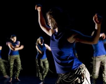 Art Decor Modern Dance Blue Photograph