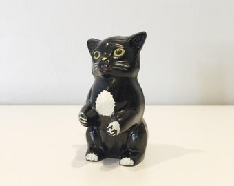 vintage Ken-L-Ration plastic cat pepper shaker