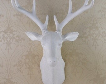 Deer Wall Hanging/Faux Taxidermy | 50 x 40 x 30cm