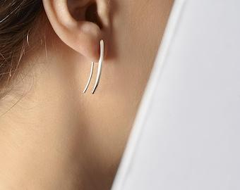 earrings pliers , small , sterling silver