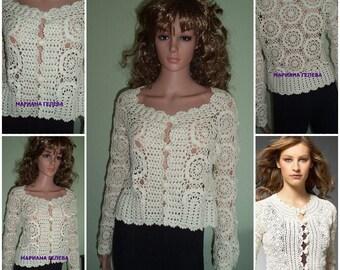ELEGANT WOMEN Jackets / crochet / models are custom-made