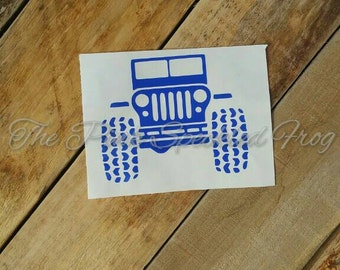 Jeep decals yeti cup decals car decals keep vinyl decals