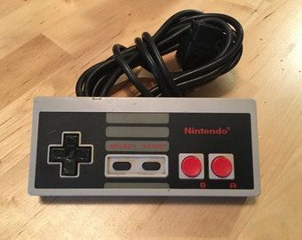 Vintage Nintendo Controller | NES | Cleaned and Tested | Video Game Console Controller