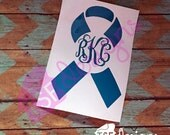 Awareness Ribbon Decals w...