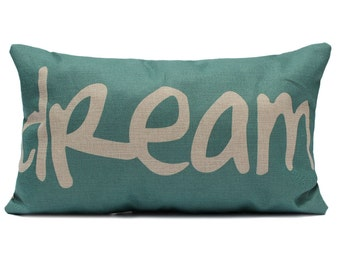 Dream cushion cover , pillow cover