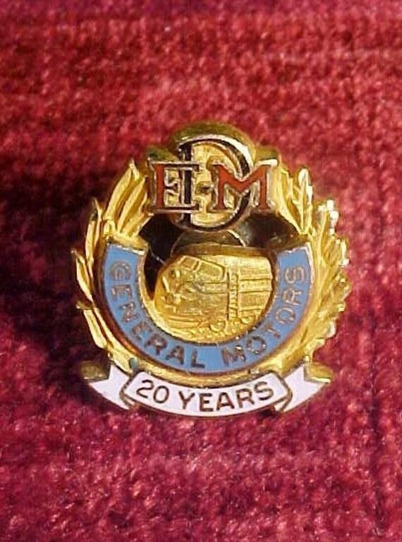 Emd Electro Motive Division Of General Motors 20 Year Service