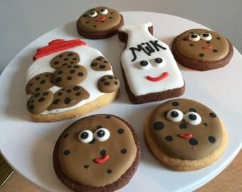 Cookies and Milk Sugar Cookies