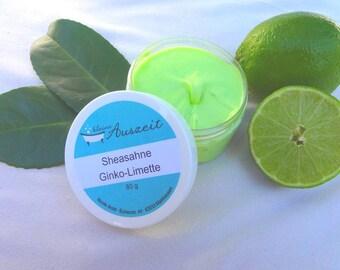 Shea butter Ginkgo Lime
