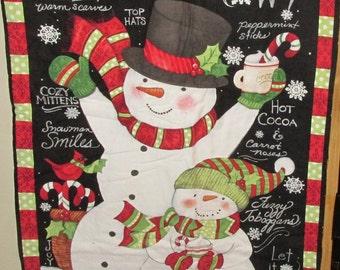 snowman wall or door hanger