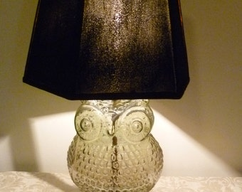 WISE OLD OWL Lamp