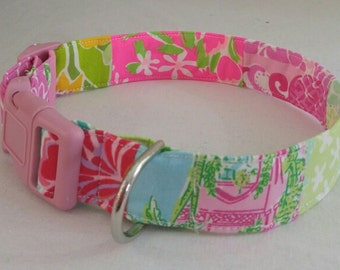 Lilly Pulitzer Variety Dog Collar and Leash
