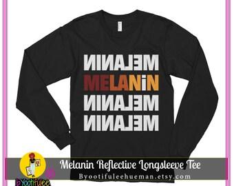 Melanin Reflective Longsleeve Tee