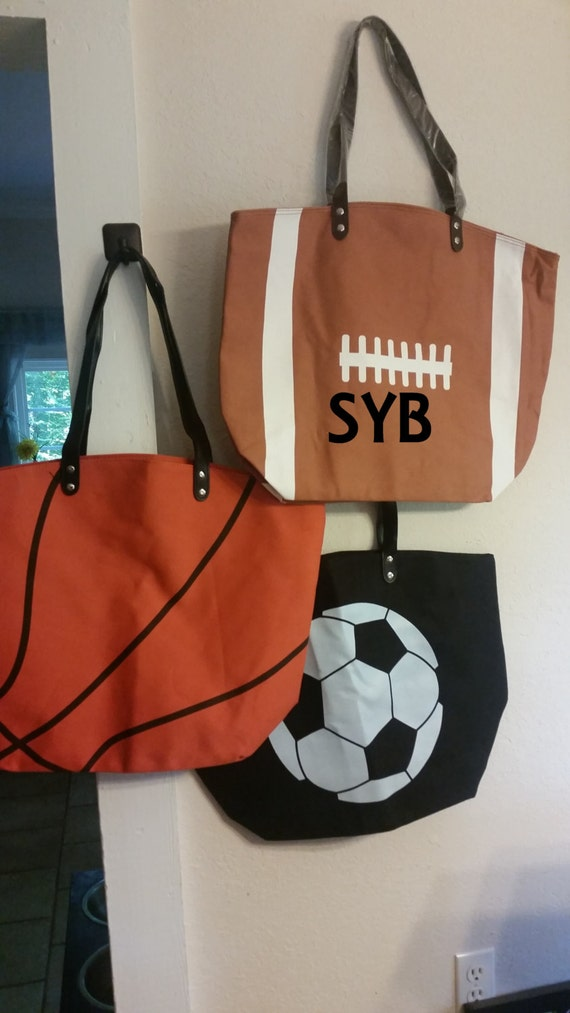 Clearance Sale Sports Totes Canvas Football Softball