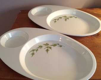 Pair of Vintage  (70s-80s) picnic plates