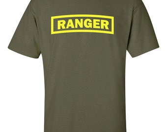 Ranger US Army Military Forces New Airborne Special Forces Men's Tee Shirt 443