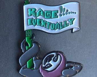 Rage Eventually - Sloth Hat Pin
