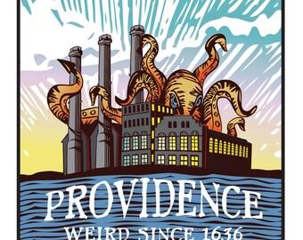 Providence weird - Sticker